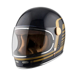 Roadster Carbon helm - blauw