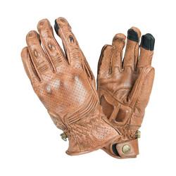 Retro gloves - brown