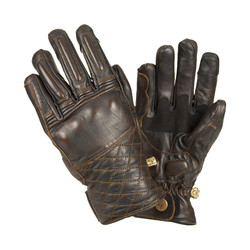 Café gloves - brown