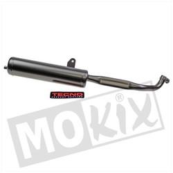 Exhaust Vespa Ciao 22mm Black