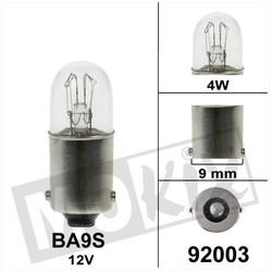 Glühlampe BA9S 12 Volt 4W