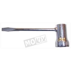 Clé à bougie pour cyclomoteur (Ø14mm SW21)