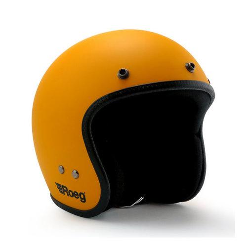 Roeg Jett Helm Sunset Yellow Matte (Größe auswählen)