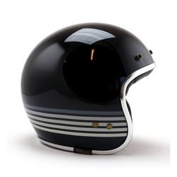 Jettson Graphite Sky Helm Glanzend Zwart