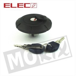 Fuel Cap + Lock Yamaha DT50MX Black