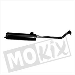 Exhaust Vespa Ciao Model '01 23.5mm Black