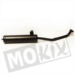 Exhaust Vespa Ciao Mix 25km 23.5mm Black