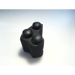 """3D geprinte """"Triple"""" schakelaar 22 mm"""
