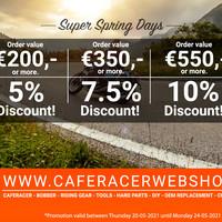 Super Spring Deals!