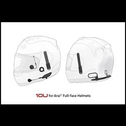 10U BT-headset, Arai volledig gezicht