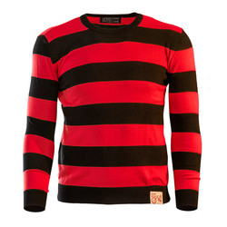 13-1/2 OUTLAW SWEATER BLACK/RED