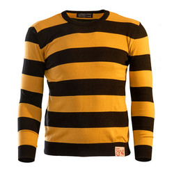 13-1/2 OUTLAW SWEATER BLACK/YELLOW