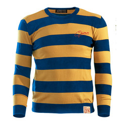 13 1/2 OUTLAW SWEATER YELLOW/BLUE