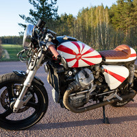 """Kamikaze Pocket Rocket CX 500"" - The story behind the bike"