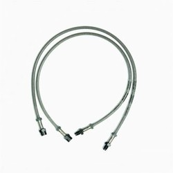 Braided Lines R80/100 up to 1980 /6/7 models up to 80 with double brake disc and R90S