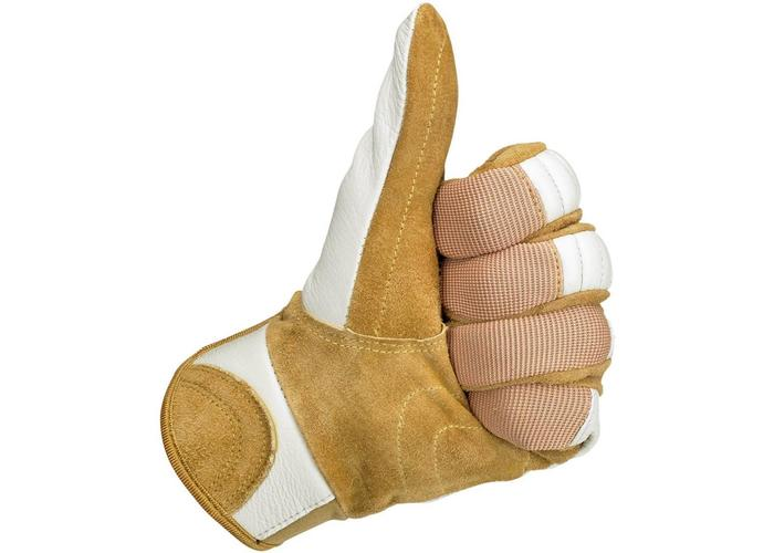 Biltwell Bantam Gloves White / Tan
