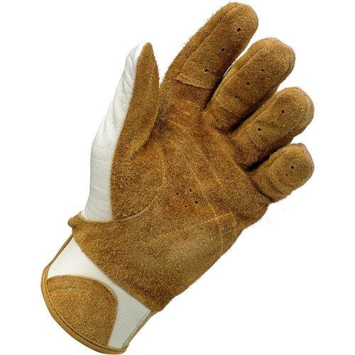 Biltwell Bantam Gloves White / Tan