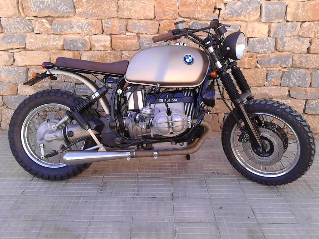 BMW R65 R80 R90 Subframe Monoshock - CafeRacerWebshop com