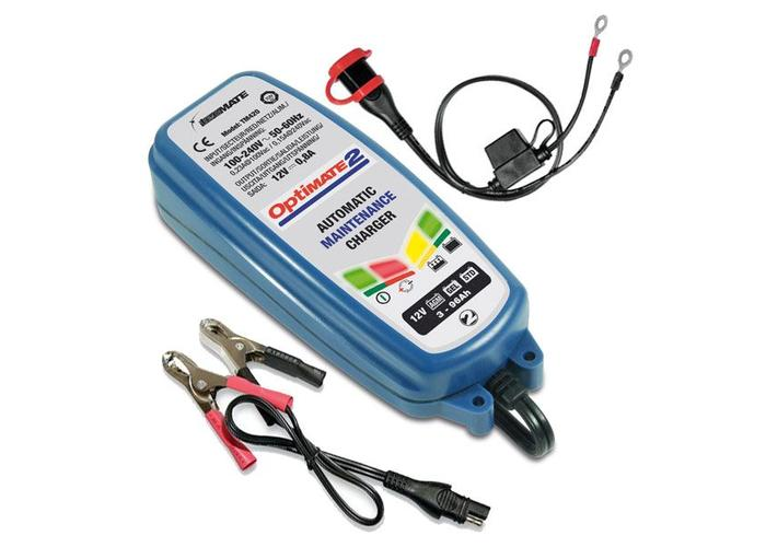 Tecmate Optimate 2 4-step 12V 0.8A Battery Charger Maintainer