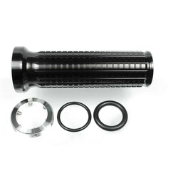 M-Grip Aluminium Black (Set of 2)