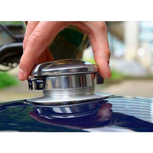 """2.5"""" Monza Tankdeckel mit Adapter für BMW"""