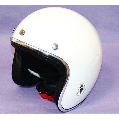 MT Helmets Helm Jet-Helm Le Mans Weiss