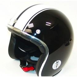 Helm Jet-Helm Le Mans Schwartz/Weiss
