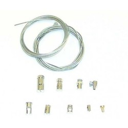Supertec Throttle Cable Repair Set