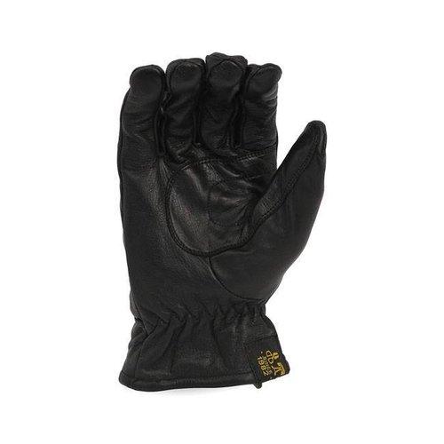Leather Old School Gloves Black