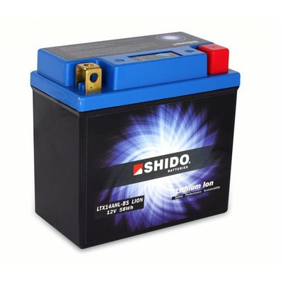 Shido YTX14-BS Lithium Ion battery