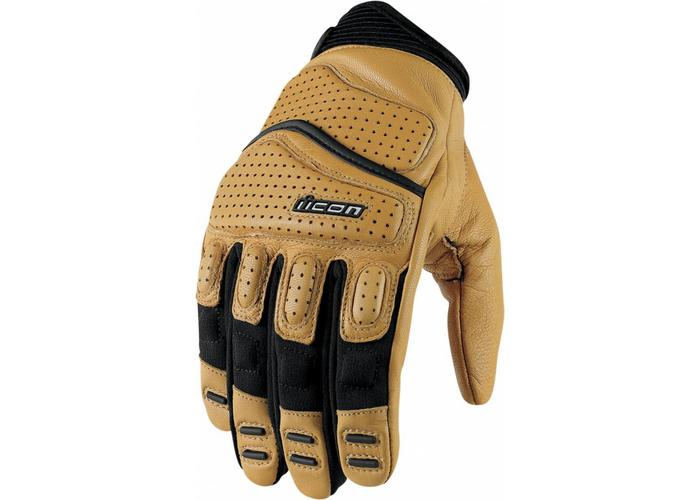 ICON Super Duty 2 Gloves Tan