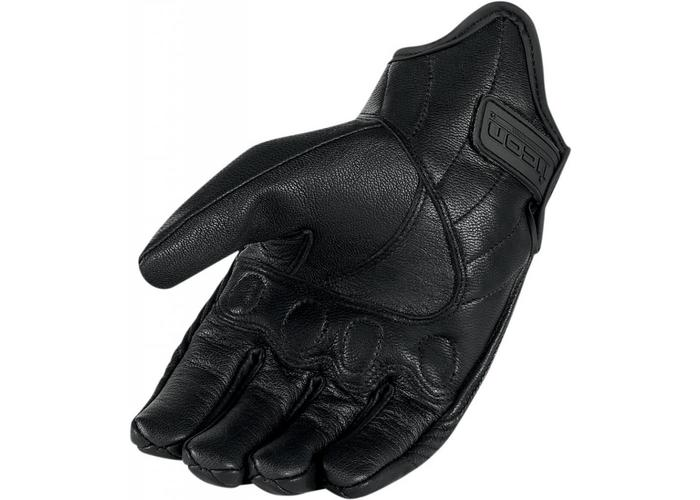ICON Pursuit Glove Stealth Touchscreen Proof