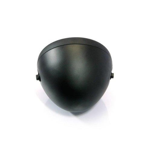 "7 "" Prison Koplamp Black Extra Groot"