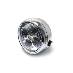"5.5"" 4 LED Projector Koplamp Chrome"