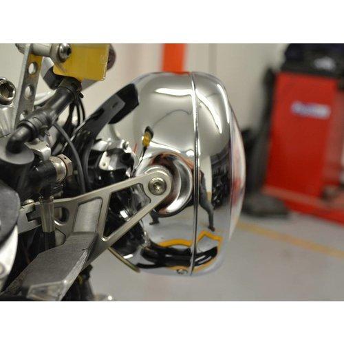 "5.5"" Projector Cafe Racer Scheinwerfer Verchromt"