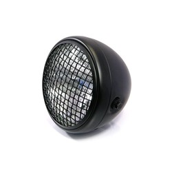 "7 "" Scrambler Headlight Black"