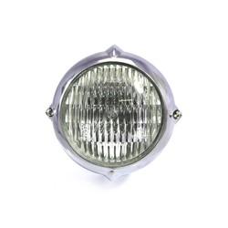 "5.5"" Vintage Headlight Bottom Mount Polished"