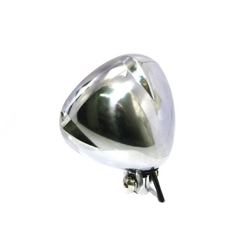"5.5"" Vintage Koplamp Bottom Mount Polished"