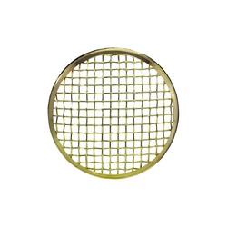 175MM Mesh Grid Insert Bronze Chrome