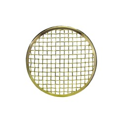 175MM Mesh Grilleinsatz Bronze Chrom