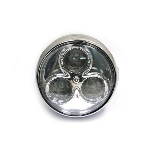 "6.75"" Cyclops Koplamp Chrome Type 2"