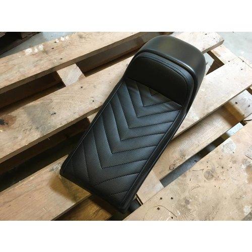 """C.Racer Cafe Racer Seat Black Vintage """"V For Vendetta"""" Type 57"""