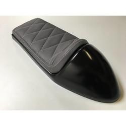 Cafe Racer Seat Diamond Stitch Grey Type 11
