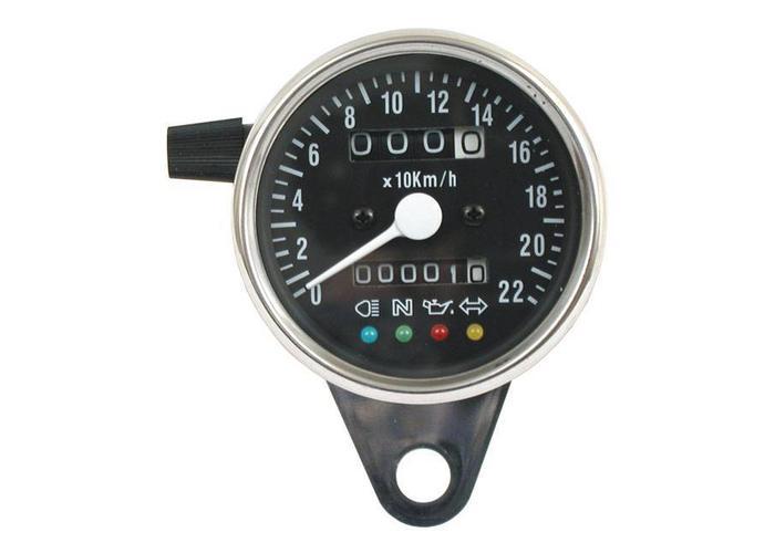 60MM K1,4 Speedo mit Kontrollleuchten
