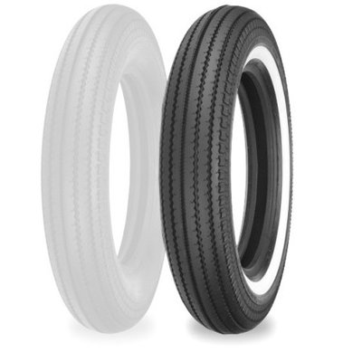 Shinko E 270 4.00 -19 TT 61 H White Wall Reife