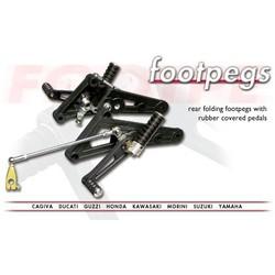 Model Specific Rear Set (Foldable) Black