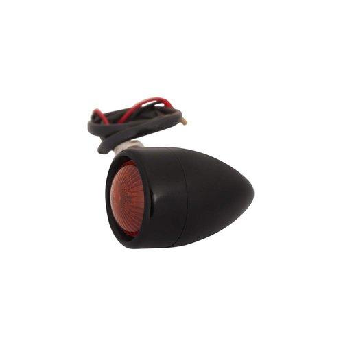 Motone Set Black Aluminium Bullet Knipperlichten