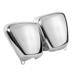 Seitenverkleidung Set - Poliertes Aluminium