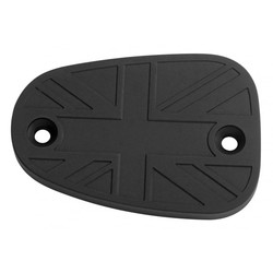 Billet Disc Brake Oil Reservoir Master Cylinder Cap - Union Jack