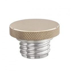 Custom Fuel Gas Cap - Billet Brass and Aluminium